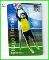 """Magnet En Relief  Carrefour 2010 Les Joueurs De L'Equipe De France De Football """" Hugo LLORIS """" - Letters & Digits"""