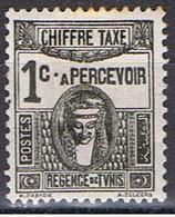 TUNISIE 54 // YVERT 7 TAXE // 1923-29 - Tunisie (1888-1955)