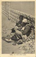 Libya, TRIPOLI, Lo Studio All'aria Aperta, Open Air Studio (1943) Postcard - Libia