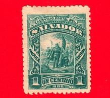 Nuovo - MH - EL SALVADOR - 1892 - Cristoforo Colombo - Landing Of Columbus - 1 - El Salvador
