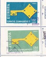 Turchia 1968  Europa CEPT. - 1921-... République