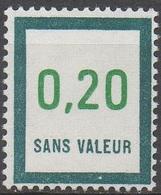 FRANCE  TIMBRES FICTIFS __  N°  F208__NEUF** VOIR SCAN - Fictifs