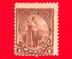 Nuovo - MH - EL SALVADOR - 1894 - Libertà - 1 - El Salvador