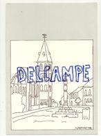 1992. Réédification Du Perron Du Surister (Jalhay). Illustration De Fernand Dumont - Jalhay