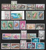 Wallis & Futuna 1957 Lot De Séries & Timbres **, Certains Par Multiples, Cote YT 529€55 - Wallis Y Futuna