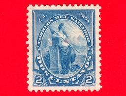 Nuovo - MH - EL SALVADOR - 1894 - Libertà - 2 - El Salvador