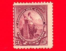 Nuovo - MH - EL SALVADOR - 1894 - Libertà - 3 - El Salvador
