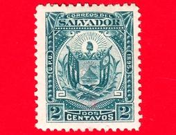 Nuovo - MH - EL SALVADOR - 1895 - Stemmi Araldici - Coat Of Arms - 2 - El Salvador