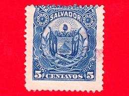 Nuovo - MH - EL SALVADOR - 1895 - Stemmi Araldici - Coat Of Arms - 5 - El Salvador