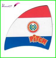 """Magnet PITCH Les Drapeaux Des Pays """" Le Paraguay """" Republica Del Paraguay - Letters & Digits"""