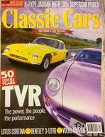 CA019 Autozeitschrift Classic Cars, Dezember 1997, Englisch, Guter Zustand - Sports