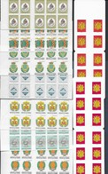 Andore Lot De  9 Carnets Adhesifs Differents - Booklets