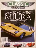 CA020 Autozeitschrift Classic & Sports Car, Dezember 1996, Englisch, Neuwertig - Deportes