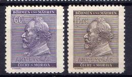 Böhmen Und Mähren 1941 Mi 73-74 ** [070419XXVI] - Occupation 1938-45