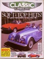 CA021 Autozeitschrift Classic & Sports Car, Juli 1997, Englisch, Neuwertig - Sports