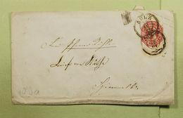 1864 SULZ TO  ? MÜHLACKER HERRENALB COVER TRAVELLED - Wuerttemberg