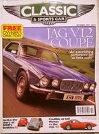 CA022 Autozeitschrift Classic & Sports Car, Oktober 1997, Englisch, Neuwertig - Sports
