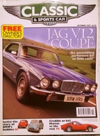 CA022 Autozeitschrift Classic & Sports Car, Oktober 1997, Englisch, Neuwertig - Deportes
