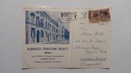 1961 - Roma - Pensione Select - Bar, Alberghi & Ristoranti