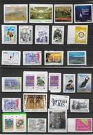 Lot Divers Timbres Adhesifs Differents - France