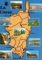 La Corse  20   2A  Et_2B  Multivues  ( 10 Vues ) - France