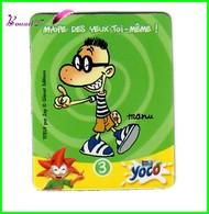 """Magnet YOCO """" Série Titeuf N° 3 MANU """"  Myope Des Yeux Toi-même ! - Letters & Digits"""