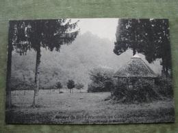 HERBEUMONT - ABBAYE DE ST. WANDRILLE DE CONQUES - LE JARDIN VERS LA SEMOIS ( Scan Recto/verso ) - Herbeumont