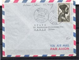 A.E.F. 22/10/59 - Lettres & Documents