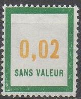FRANCE  TIMBRES FICTIFS __  N°  F159__NEUF** VOIR SCAN - Fictifs
