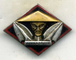 Insigne Aviso Dragueur ,ANNAMITE___drago - Marine