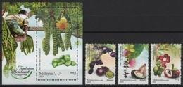 Malaysia (2018) - Set + Block -  /  Fruits - Frutas - Fruit