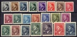Böhmen Und Mähren 1942 Mi 89-110 ** [070419XXVI] - Occupation 1938-45