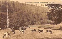 Trois Ponts - Confluent De L'Amblève Et De La Salm (Edit. F Butenaers 1936) - Trois-Ponts
