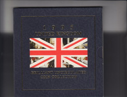 AB1652. 1995 United Kingdom Brilliant Uncirculated Coin Collection Not Sealed. - Great Britain