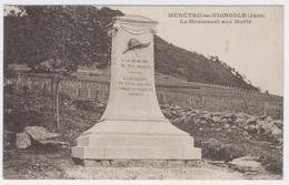 39 - MENETRU-LE-VIGNOBLE ** LE MONUMENT AUX MORTS ***/ 1831 A - France