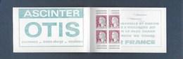 Carnet De Timbres  Avec 4 Timbres Neufsxx Type Marianne Decaris - Booklets