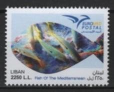 Liban (2016)  - Set -  /  Joint Issue EUROMED - Fish - Peces - Fishes - Fische - Gezamelijke Uitgaven
