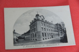 Baden Wurttemberg Freiburg I. Br. Holzmarktplatz + Advertising Card St. Anna Stift - Otros