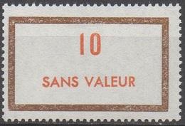 FRANCE  TIMBRES FICTIFS __  N°  F187__NEUF** VOIR SCAN - Fictifs