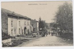 88 - MAUPOTEL - Rue Principale Bien Animée **/ 1832 A - France