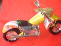 Moto En Tôle - Other Collections