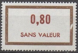 FRANCE  TIMBRES FICTIFS __  N°  F178__NEUF** VOIR SCAN - Fictifs