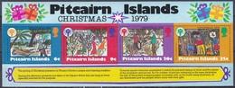 Pitcairn 1979 Religion Christentum Weihnachten Christmas Organisationen UNO ONU UNICEF Kinder Children, Bl. 5 ** - Briefmarken