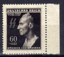 Böhmen Und Mähren 1943 Mi 131 **, Heydrich [070419XXVI] - Occupation 1938-45