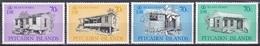 Pitcairn 1987 Architektur Architecture Bauwerke Gebäude Buildings Holzhäuser Häuser Haus Houses, Mi. 293-6 ** - Briefmarken