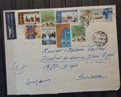 Egypte - Lettre à Destination De Sion - Valais - Suisse - Égypte