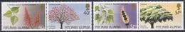 Pitcairn 1987 Pflanzen Plants Flora Baum Bäume Trees Korallenbaum Blüten Blossoms Blätter Blatt Leafs, Mi. 297-0 ** - Briefmarken