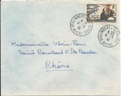 1941 - N° 496 Oblitéré (o) SEUL Sur Lettre – RRR - France