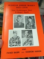 MALAYSIA Malaya Royal King 1855 1940 Sultan Johore Johor History Sejarah Undang - Books, Magazines, Comics