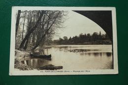 Pont De L'arche Eure  Paysage Sur L'eure écrite En 1945 - France